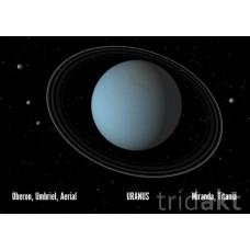 3D pohlednice URAN