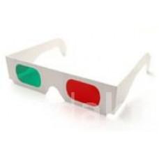papírové 3D brýle s filtry red-green