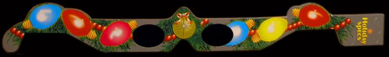 holografické 3D brýle - Okuliare