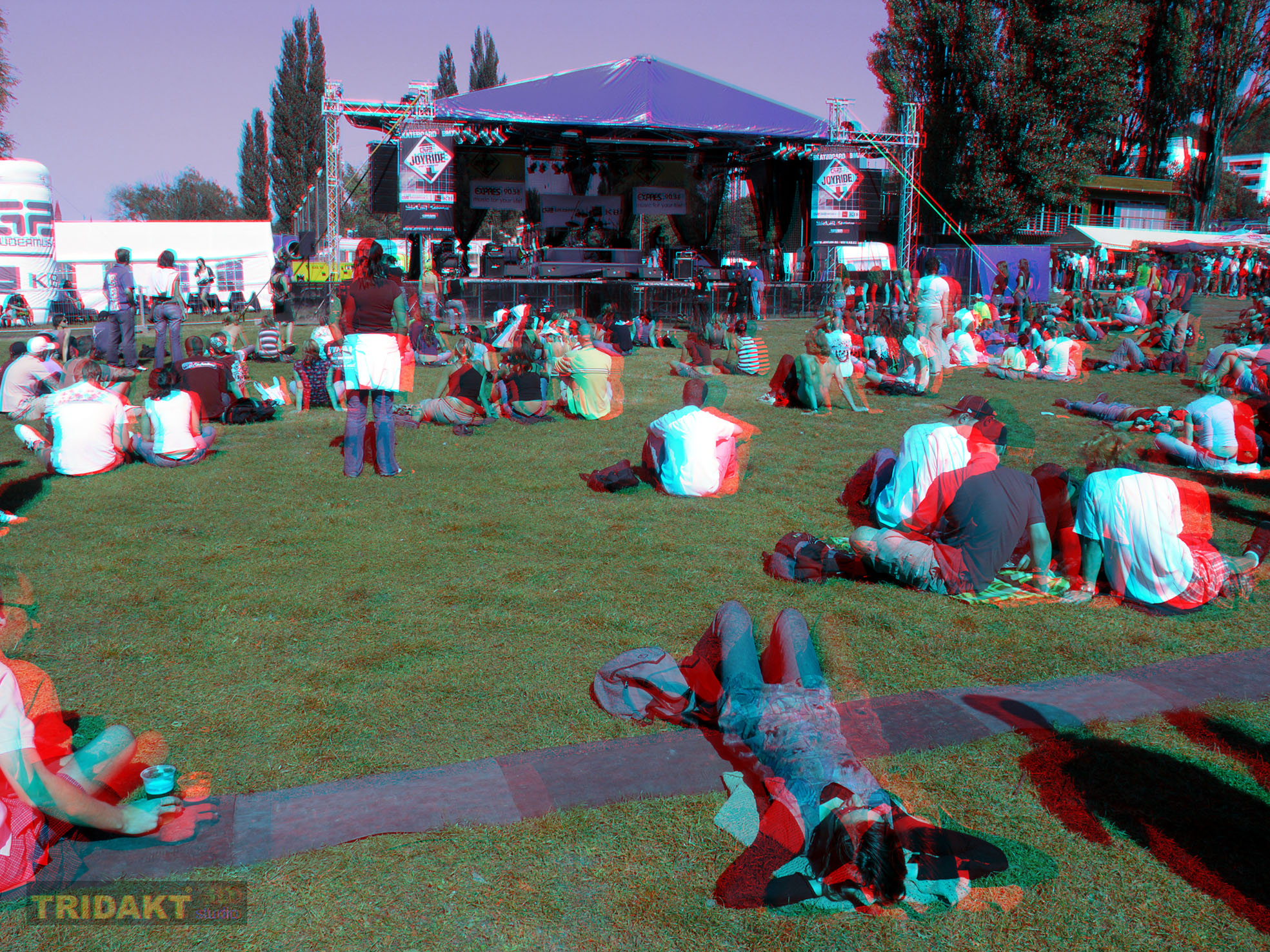 3D foto - anaglyf pro brýle red cyan